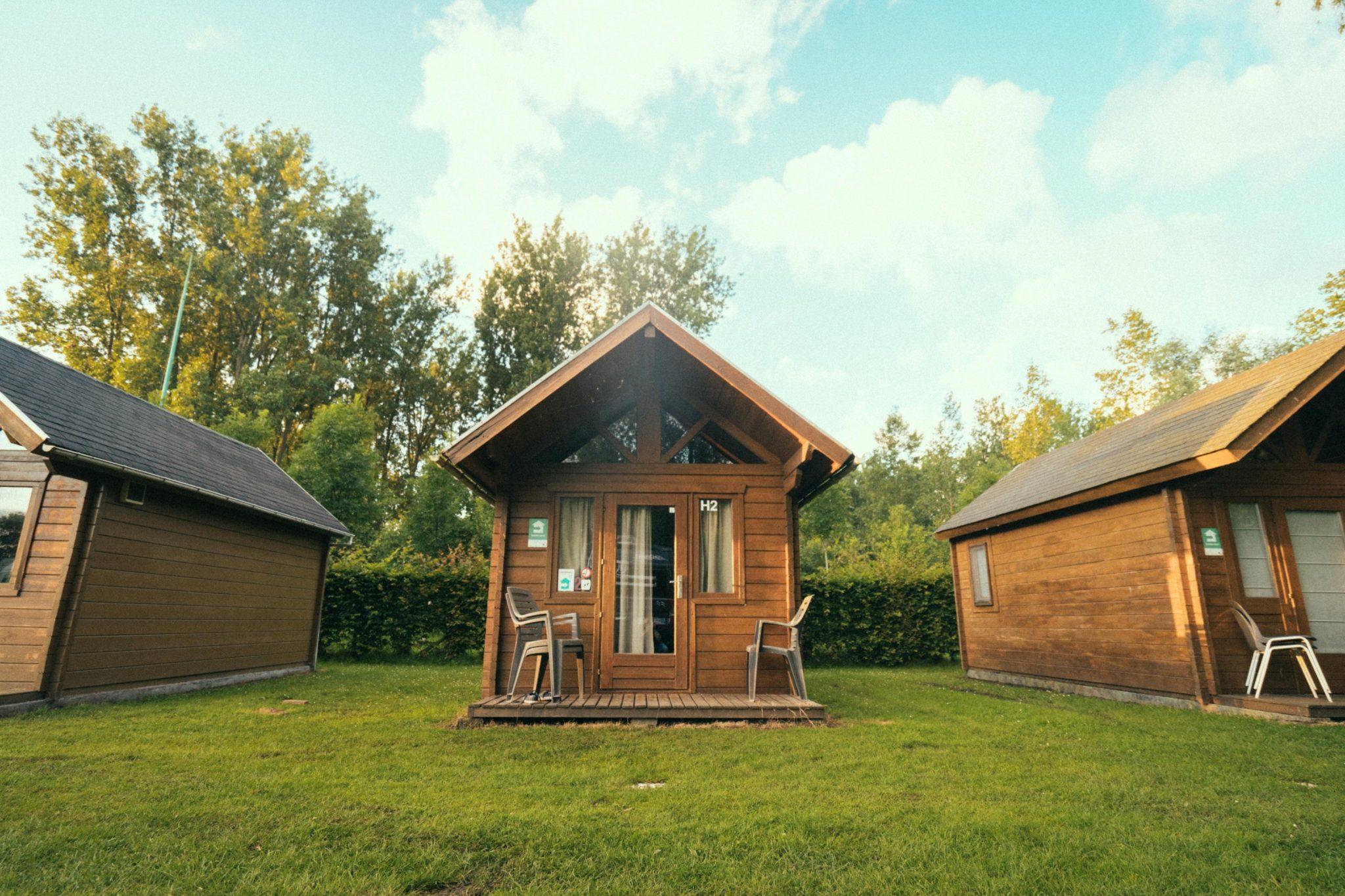 Camping Groeneveld - Logeren in trekkershut in groen tussen Gent en Deinze