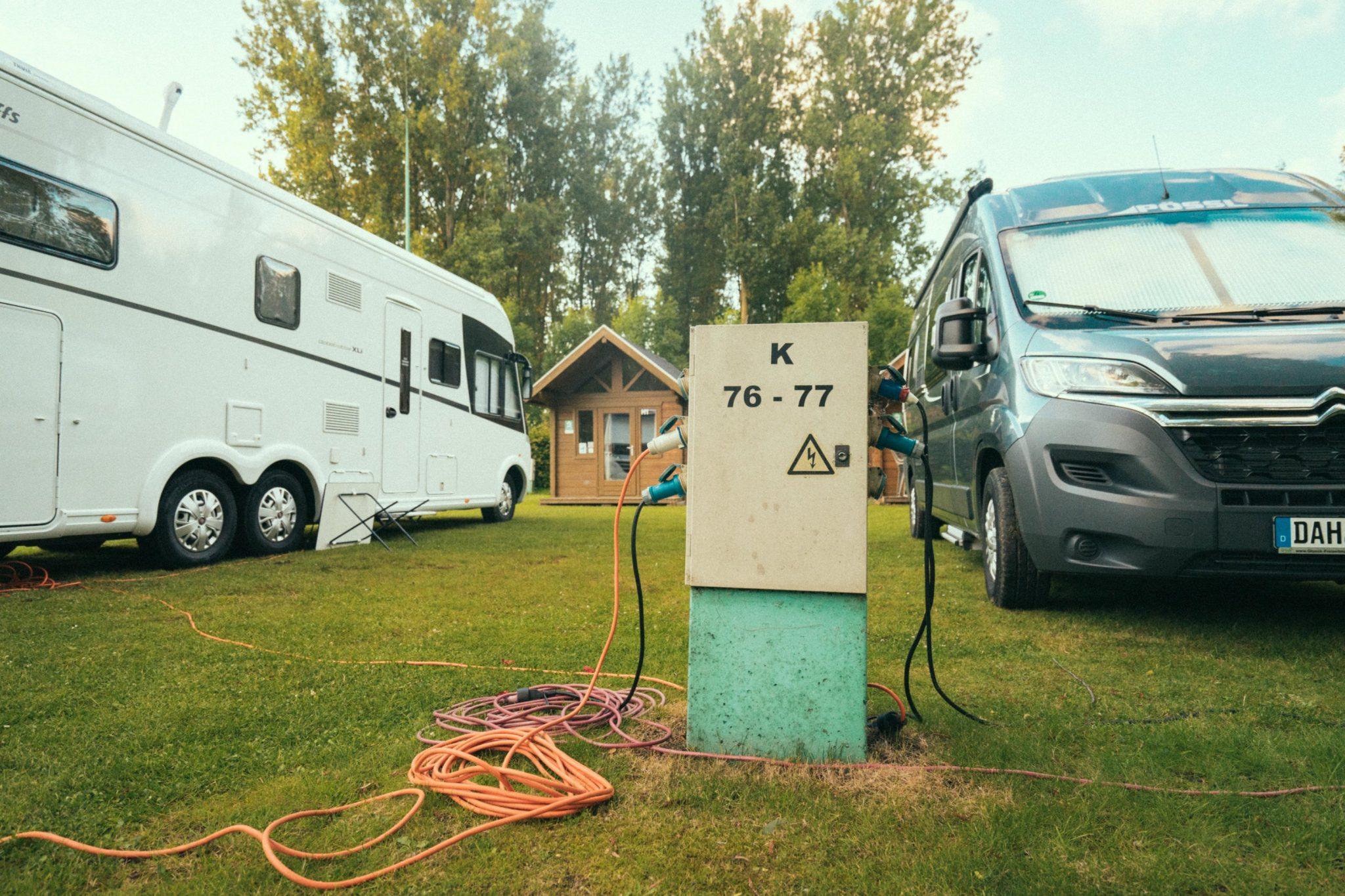 Caravan Camping Groeneveld - elektriciteit