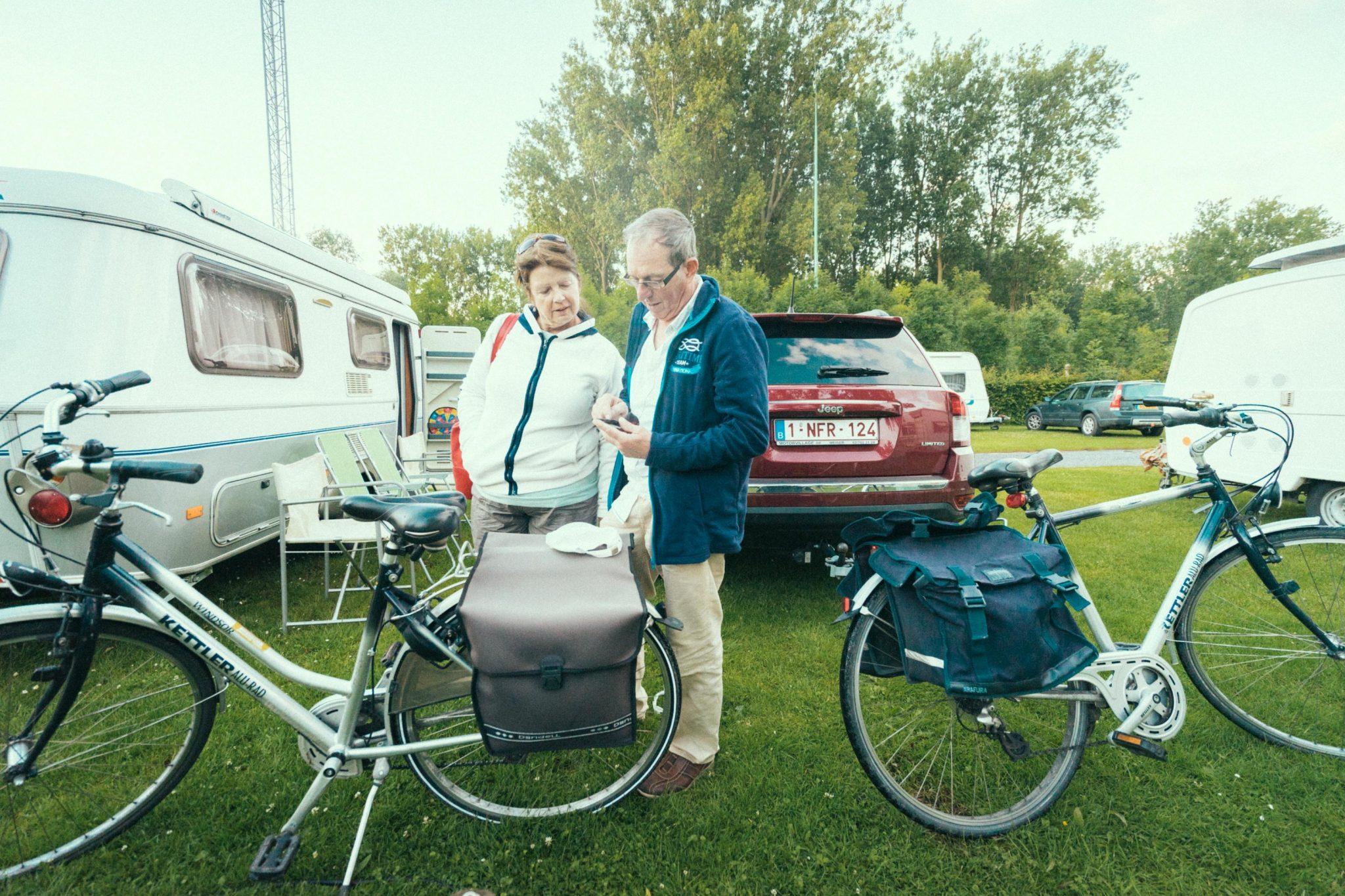 Camping Groeneveld - Fiets uitstap Gent Deinze