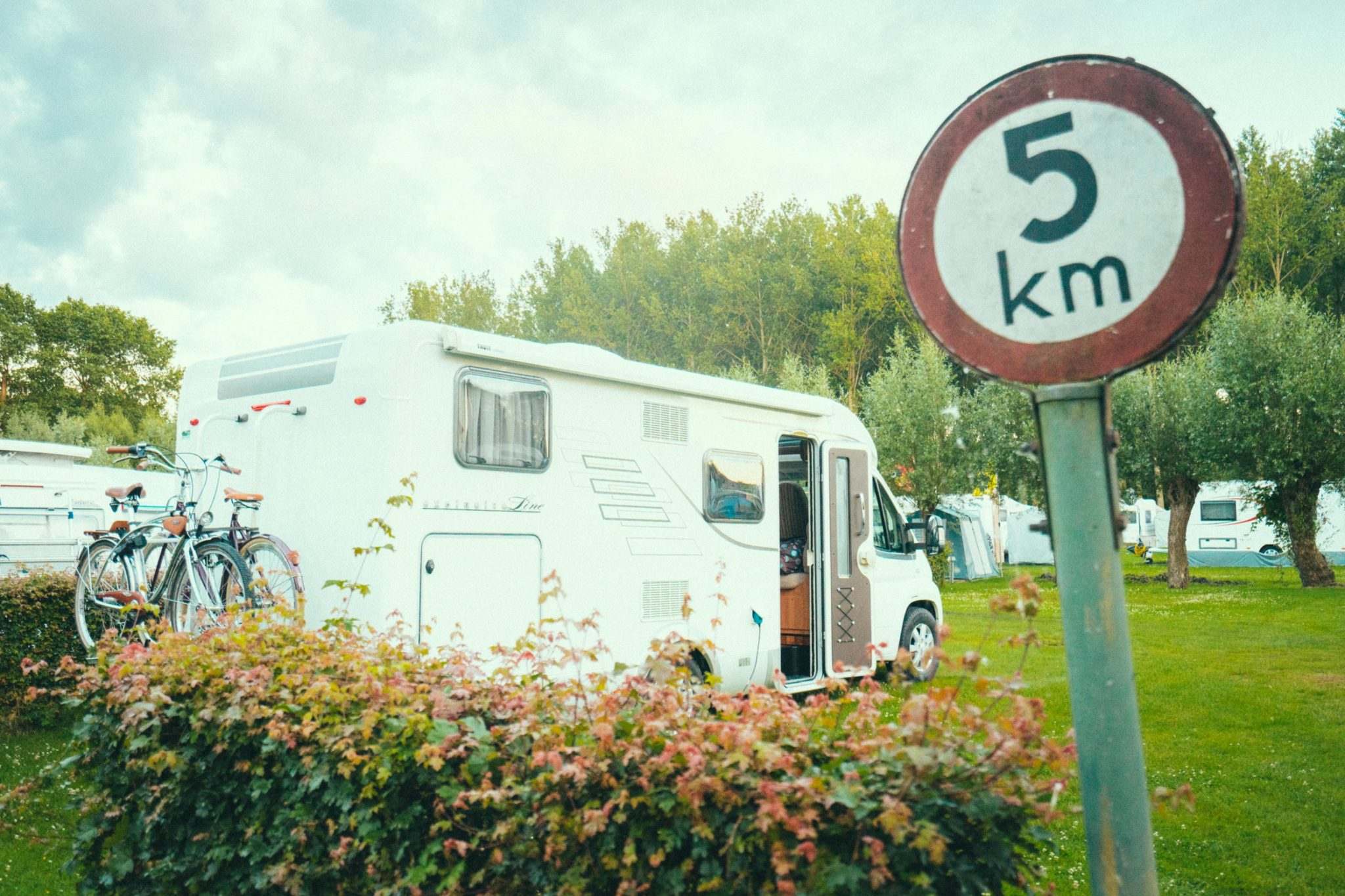Camping Groeneveld - Camper mobilhome staanplaats