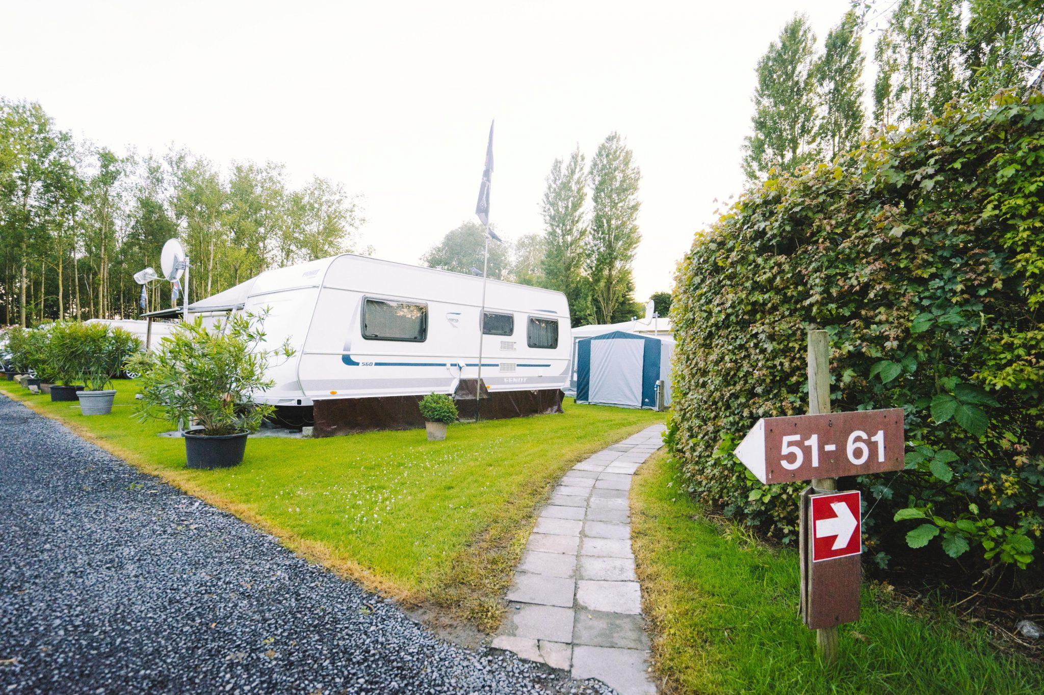 Caravan Camping Groeneveld - wandelpad