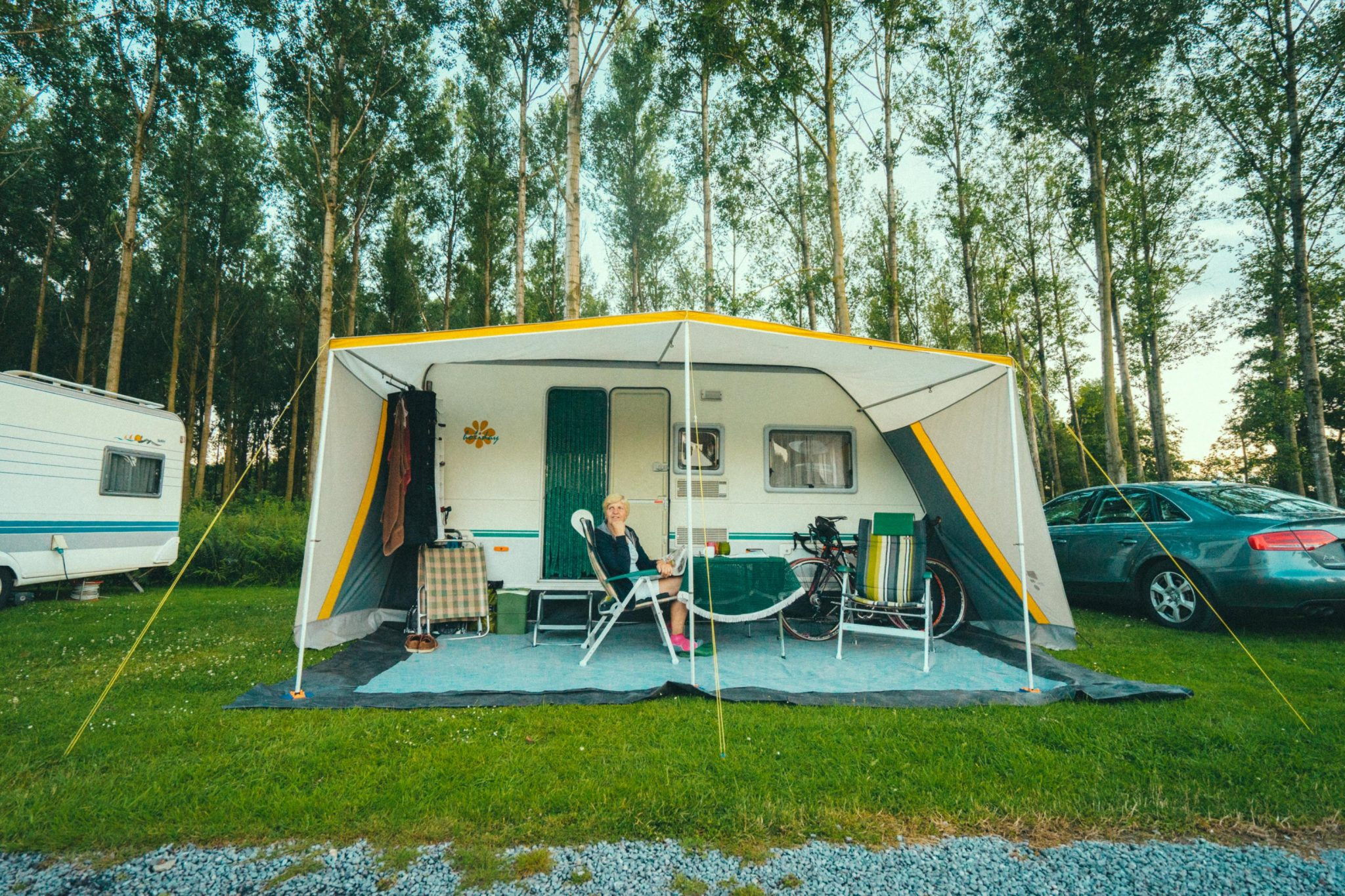 Caravan Camping Groeneveld - voortent