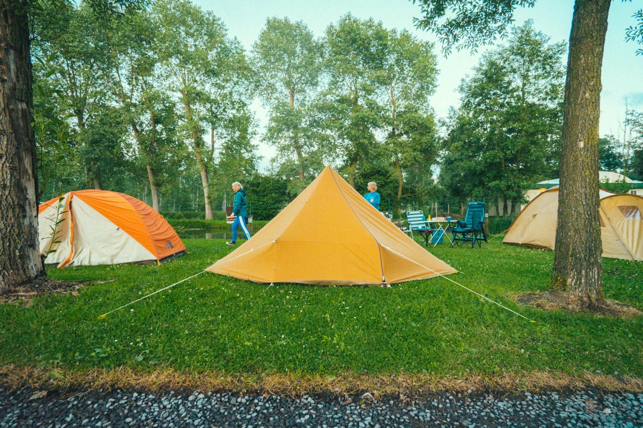 Camping Groeneveld - Kamperen met tent tussen Gent en Deinze