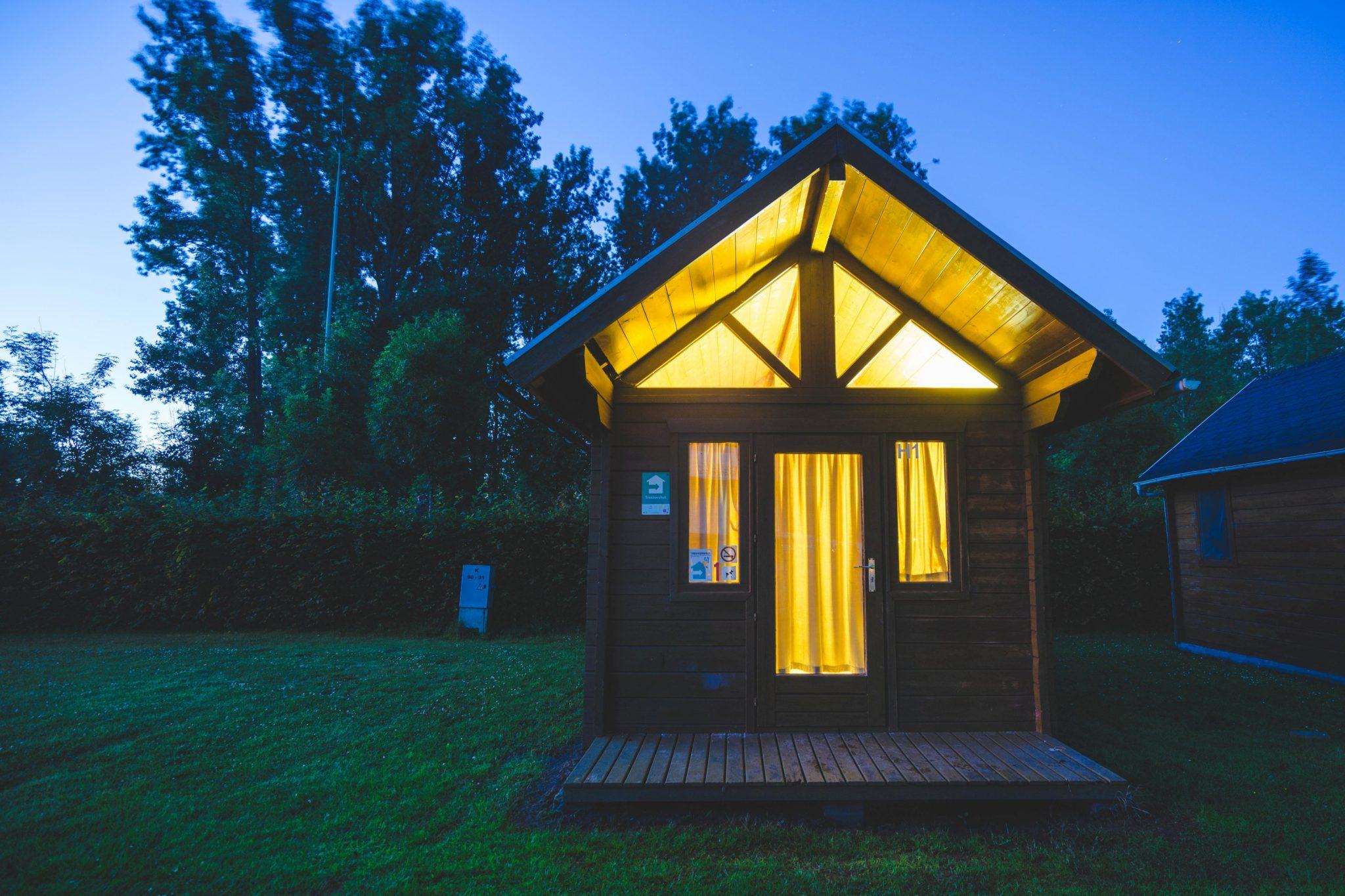 Camping Groeneveld - Slapen in trekkershut tussen Gent en Deinze